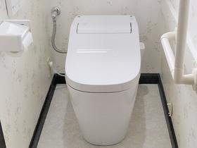 トイレリフォーム快適な使い勝手の2階トイレ